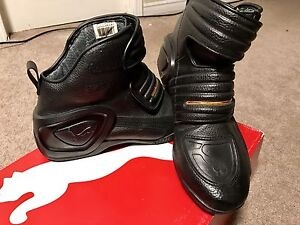 Puma motorcycle boots (size 11 US)