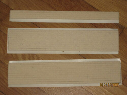 "Autoharp or Chromaharp Chord Bar Felt Strips 7/32"" x 7/32"" Self Adhesive 20 feet"