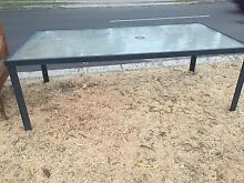 Outdoor glass table Yowie Bay Sutherland Area Preview