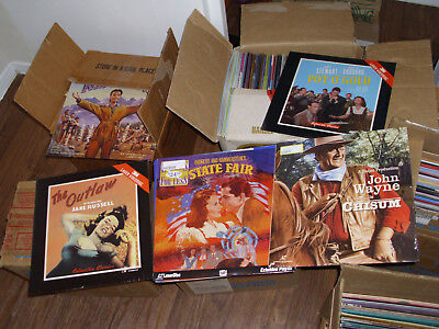 New Sealed Laserdiscs Lot Pick Choose 3 for $19.99 Shipped out of 450+ Classics