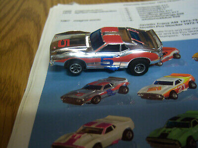 AURORA Rare AFX NOS Chrome Javelin #5 New Model Motoring HO NONE BETTER--LooK-