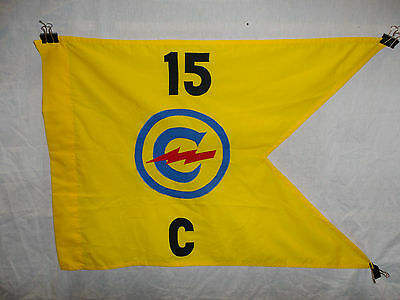 flag864 Post WW 2 US Army Constabulary Guide on 15th Regiment C Company W9A