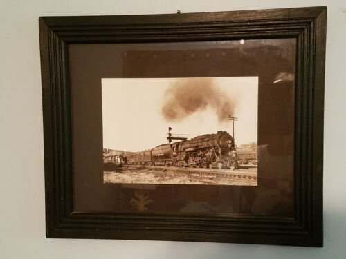 New York Central Railroad 5415 4-6-4 Hudson Steam Locomotive Framed Photo 1930