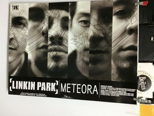 "LINKIN PARK ""METEORA"". 2-sided PROMO POSTER 2003"
