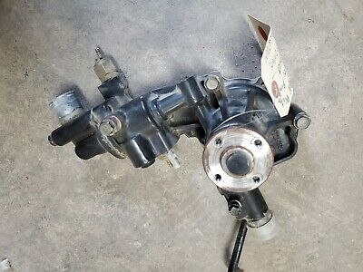 Used Yanmar 129004-42001 Water Pump 124101-49531 Cover Assy