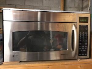 Stainless steel microwave vent fan