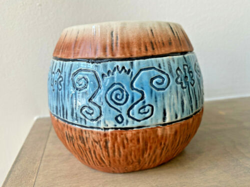 Lost Temple Traders BLUE Mad Tiki Cup DRINK ME Munktiki x/250 Mug *** SOLD OUT!
