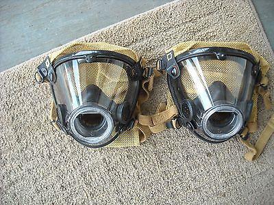 Scott Av-2000 Mask Large W Nose Cup New Scba Air Pak Firefighter