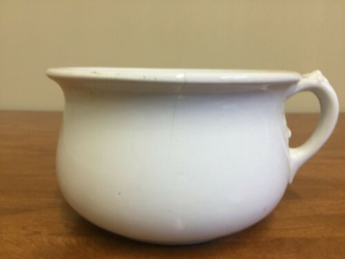 Antique Porcelain Chamber Pot Johnson Bros England