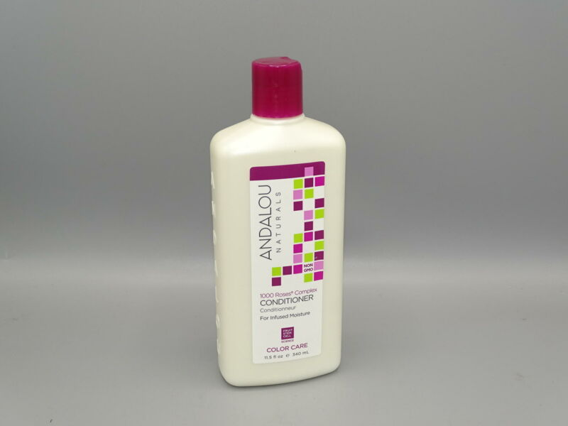 Andalou Naurals 1000 Roses Complex Color Care Conditioner 11.5 Ounce