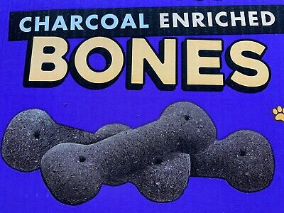 1kg CHARCOAL DOG BONES BISCUITS POINTER FOLD HILL CHEWDLES PET FOOD TREATS