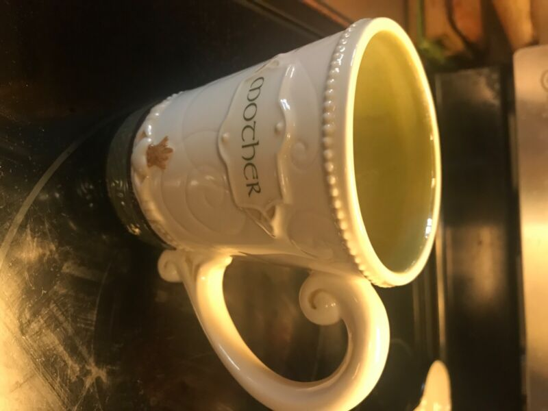 Grasslands Road Irish blessing Mother Mug Cup Ceramic  Cream and green