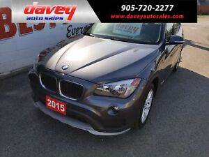 2015 BMW X1 xDrive28i ALL WHEEL DRIVE, SUNROOF, LEATHER INTERIOR