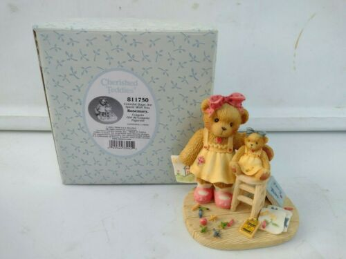 Cherished Teddies 2001 Rosemary Colorful Days Are Spent With You 811750