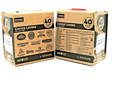 80 COUNT - Keurig Bold Roast Coffee Collection Variety Pack, K-Cup Pods Sampler