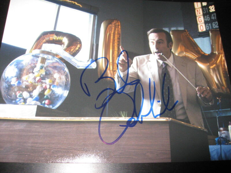 BOB ODENKIRK SIGNED AUTOGRAPH 8x10 PHOTO BETTER CALL SAUL BREAKING BAD COA NY X6
