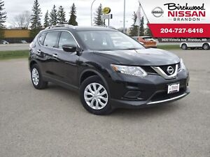 2015 Nissan Rogue S Low KM/Backup Cam/Bluetooth
