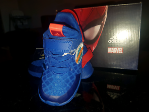 ADIDAS SPIDERMAN  KIDS,TODDLER, BABY SHOES Morley Bayswater Area Preview