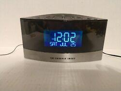 Sharper Image Alarm Clock Radio Sound Soother Model EC-B150 in Box