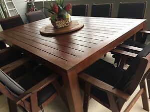 10 seater outdoor setting Lambton Newcastle Area Preview