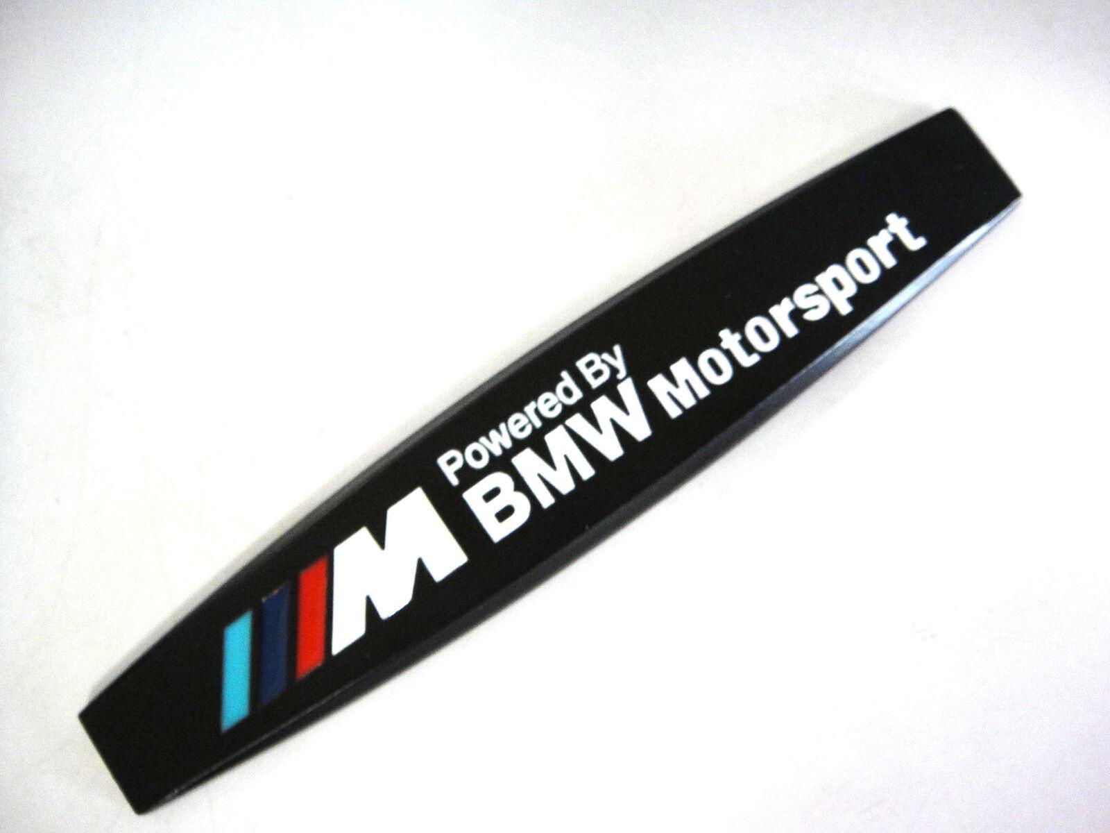side aluminum logo m bmw motorsport sign emblem. Black Bedroom Furniture Sets. Home Design Ideas