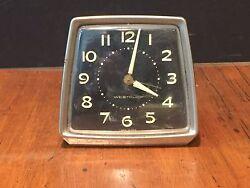 Vintage Westclox Windup Alarm Clock