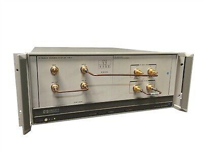 Hp 70001a Mainframe Phase Detector Test Set W Hp 70612b K18 70612c K09 Module