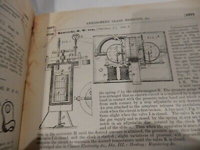 MEDICAL SURGERY DENTAL UK PATENTS 1893 -- REBOUND FOR  MUSEUM  IN 1980s era