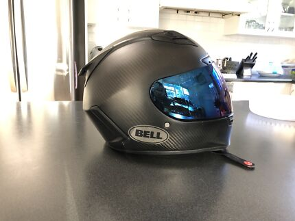Bell carbon fibre mortorcycle helmet Mona Vale Pittwater Area Preview