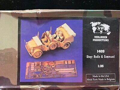 VERLINDEN Productions Steyr Radio Command -for Tamiya 1:35 Scale 1409