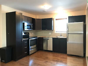 GREAT NEW APARTMENT, 6  APPLIANCES, VERY  CLEAN- WEST END