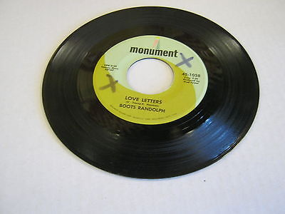 Boots Randolph Big Daddy/Love Letters 45 RPM Monument (Big Daddy Boots)