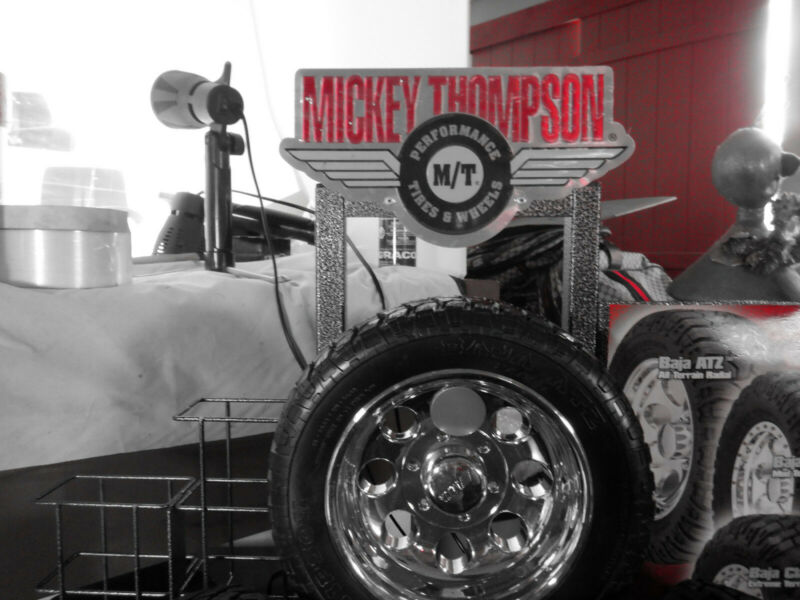 Mickey Thompson Tires and Wheels Countertop Display