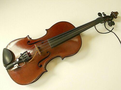 Vintage German 4/4 Electric Violin E. Martin? John Buckingham Des Moines Iowa