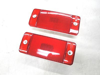 70 71 72 FORD TRUCK F100 F250 REAR RED SIDE MARKER LIGHT LENS NEW, usado comprar usado  Enviando para Brazil