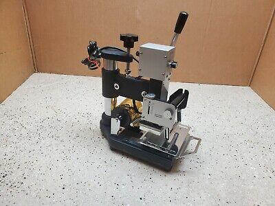 Hot Foil Stamping Tipper Machine Wtj-90a Pvc Plastic Card Stamper