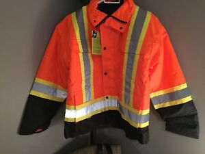 Safety Jacket XL also includes a Vest Brand New