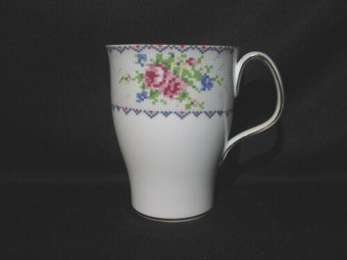 Royal Albert - PETIT POINT - Tall Coffee Mug - Made in England