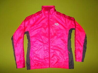 Jacket KARI TRAA (Women L) Windcheater PERFECT !!! Running Lightweight PINK
