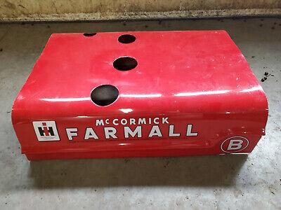 Farmall B Kerosene Hood 4 Holes Rare