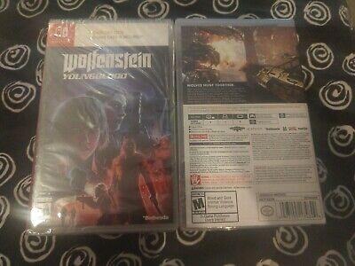Wolfenstein Youngblood Brand New Nintendo Switch Fast Shipping Young Blood