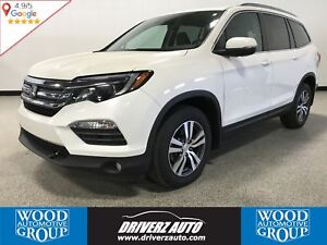 2017 Honda Pilot EX-L RES 7 PASSENGER, AWD, REAR ENTERTAINMEN...