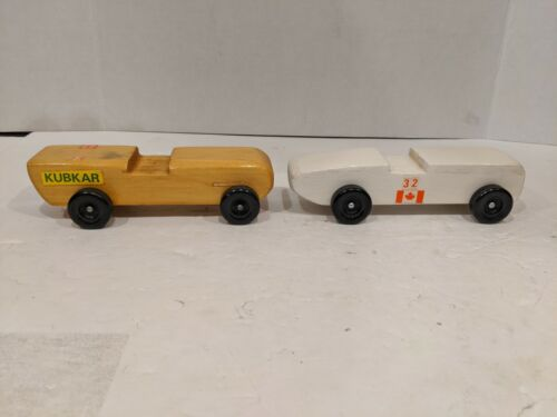 2 fast pinewood derby car from official Scout Canada Kubkar Q1