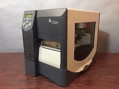 Zebra Z4m Thermal Barcode Label Tag Printer Z4m00-0001-0000