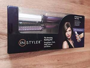 InStyler 19mm Purple Rotating Titanium Iron Straightener Curling Northgate Port Adelaide Area Preview