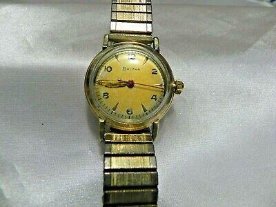 Mens  Bulova Wrist Watch