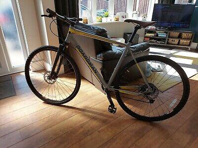 Boardman X7Comp hybrid19inch Syncros carbonforks flatbar Gravel bike 1x9 drive