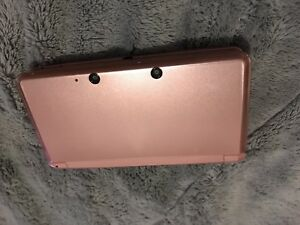 pink nintendo 3ds +games