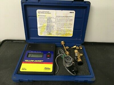 Ritchie Yellow Jacket 69070 Superevac Lcd Vacuum Gauge