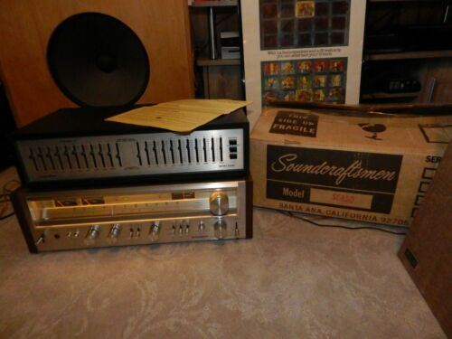 Vintage Soundcraftsmen SE-450 10 Band equalizer